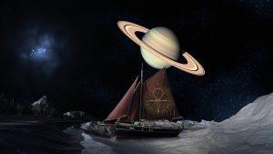 artystyczna wizja kosmosu